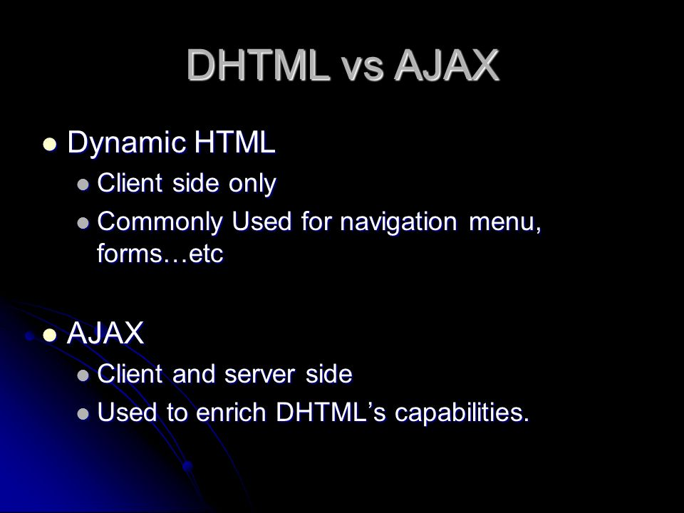 AJAX Rohan B Thimmappa  What Is AJAX? AJAX stands for Asynchronous