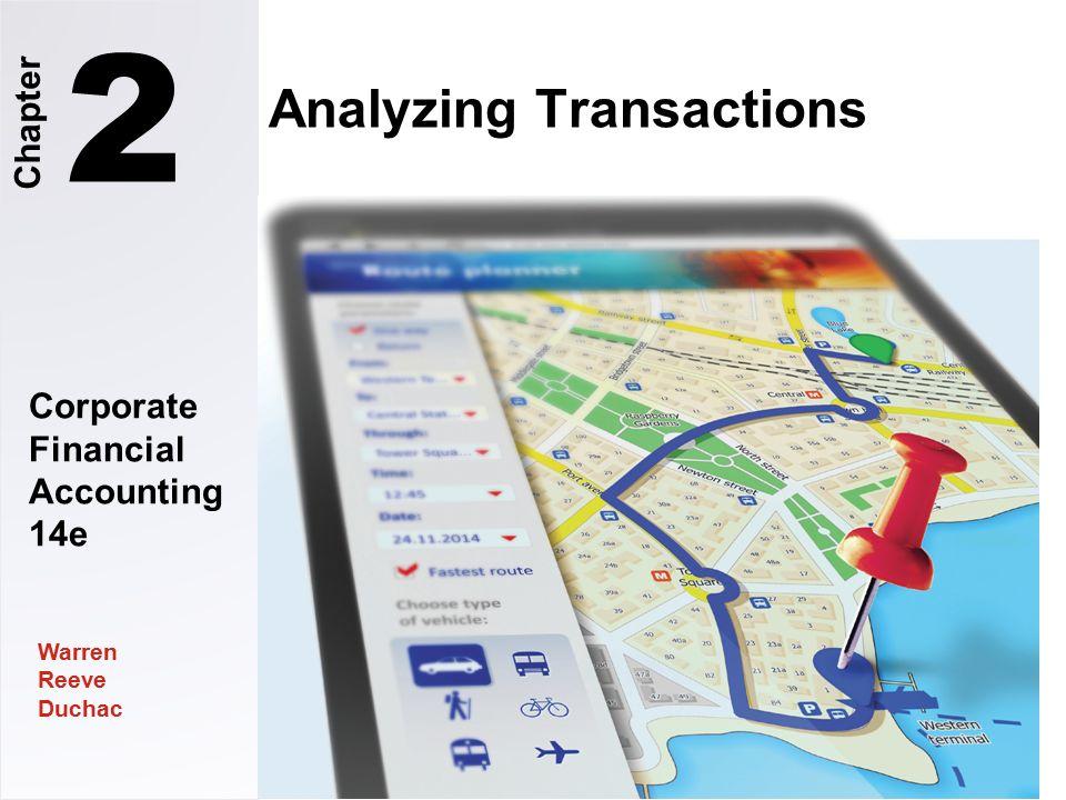 Corporate Financial Accounting 14e Warren Reeve Duchac