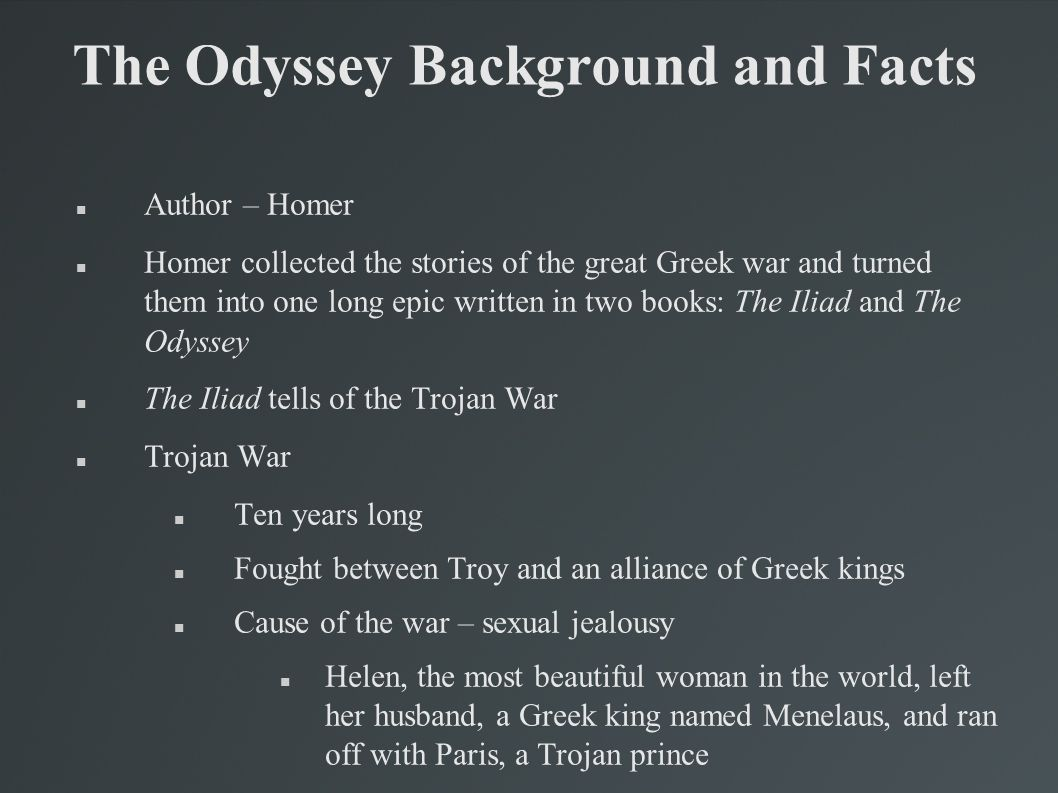 the value system of homer in the odyssey essay Research note: a new perspective on revenge and justice in homerbridgewater review, 2(2), 26-27  passages in both the iliad and the odyssey  social values.