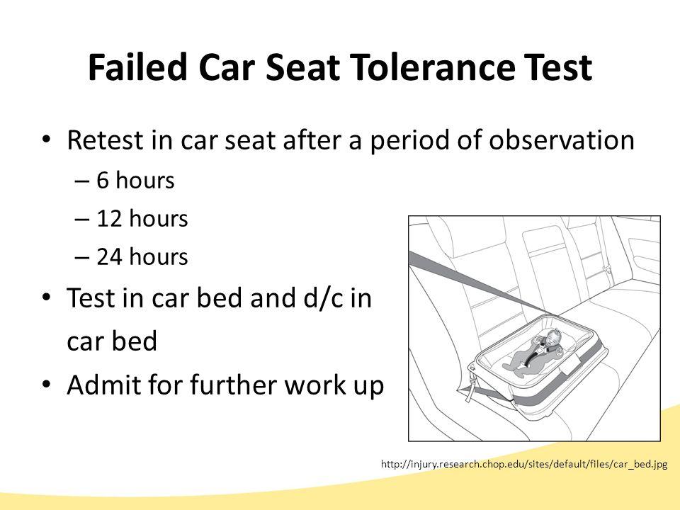 39 Failed Car Seat