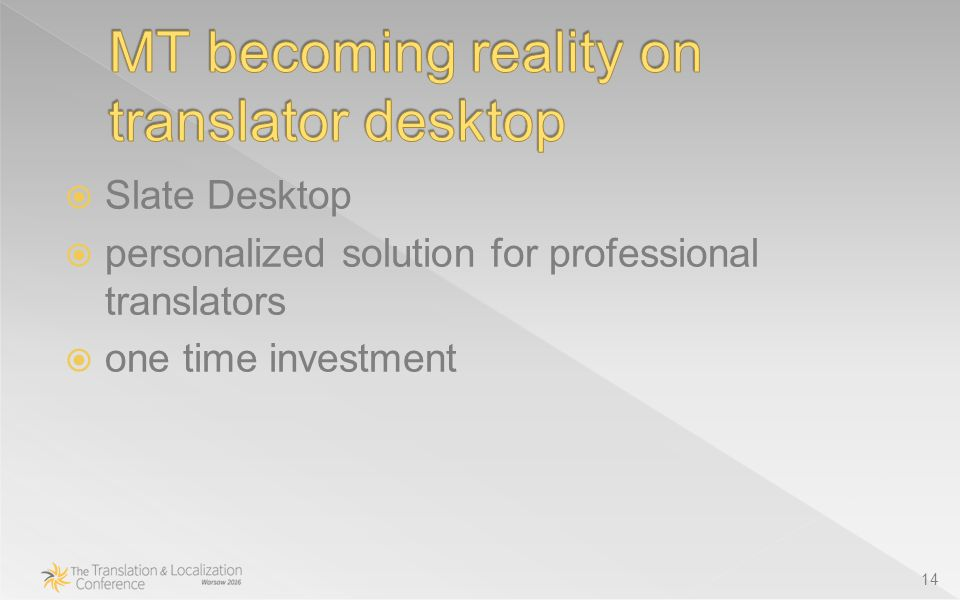  Slate Desktop  personalized solution for professional translators  one time investment 14