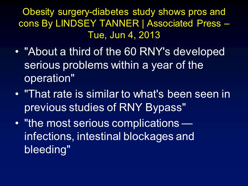 Safe And Effective Treatment Of Obesity Diabetes Failure Of The