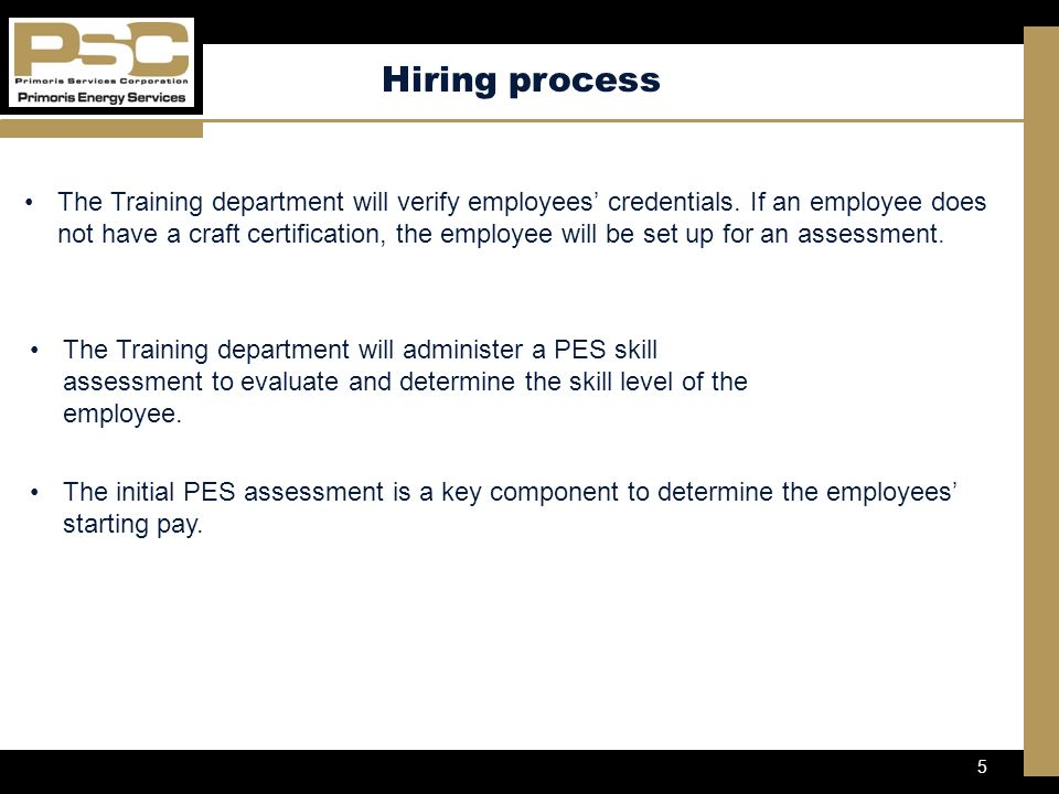 1 Objectives Pes Workforce Development 2 Mission Statement At