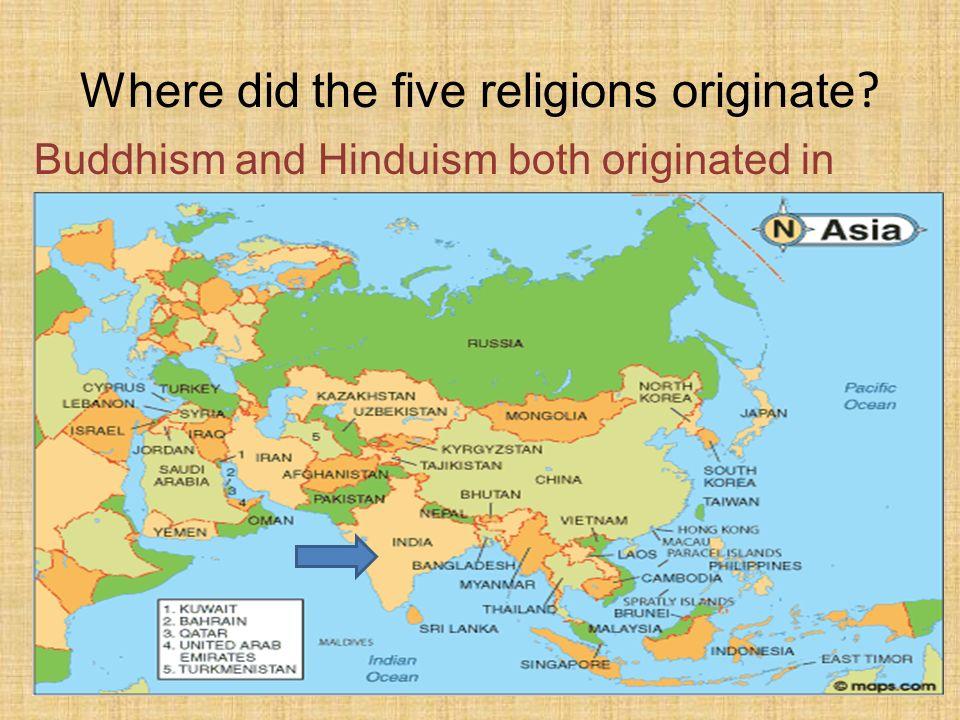 Five Major World Religions And Philosophies Origins Beliefs And