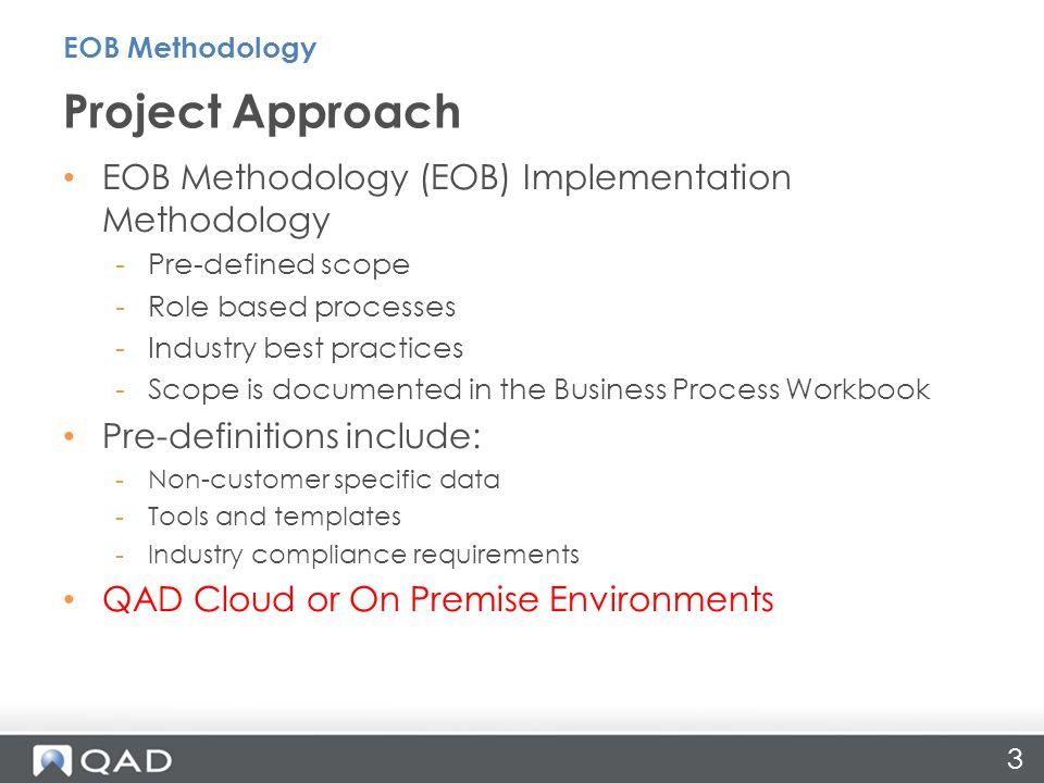 Implementation Overview EOB Methodology John PolichSeptember ppt ...