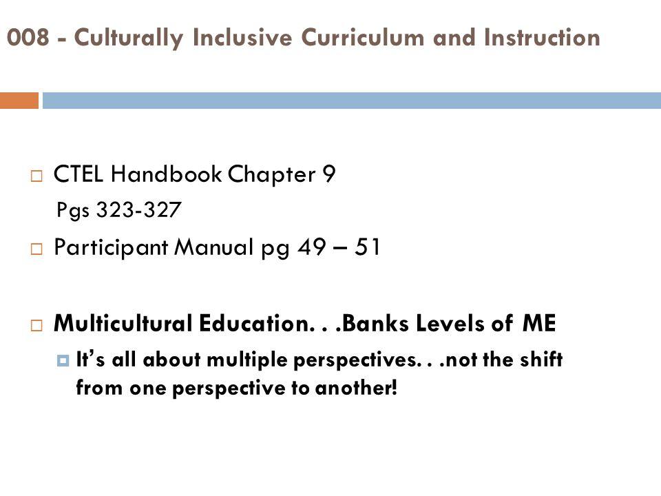 culturally inclusive curriculum