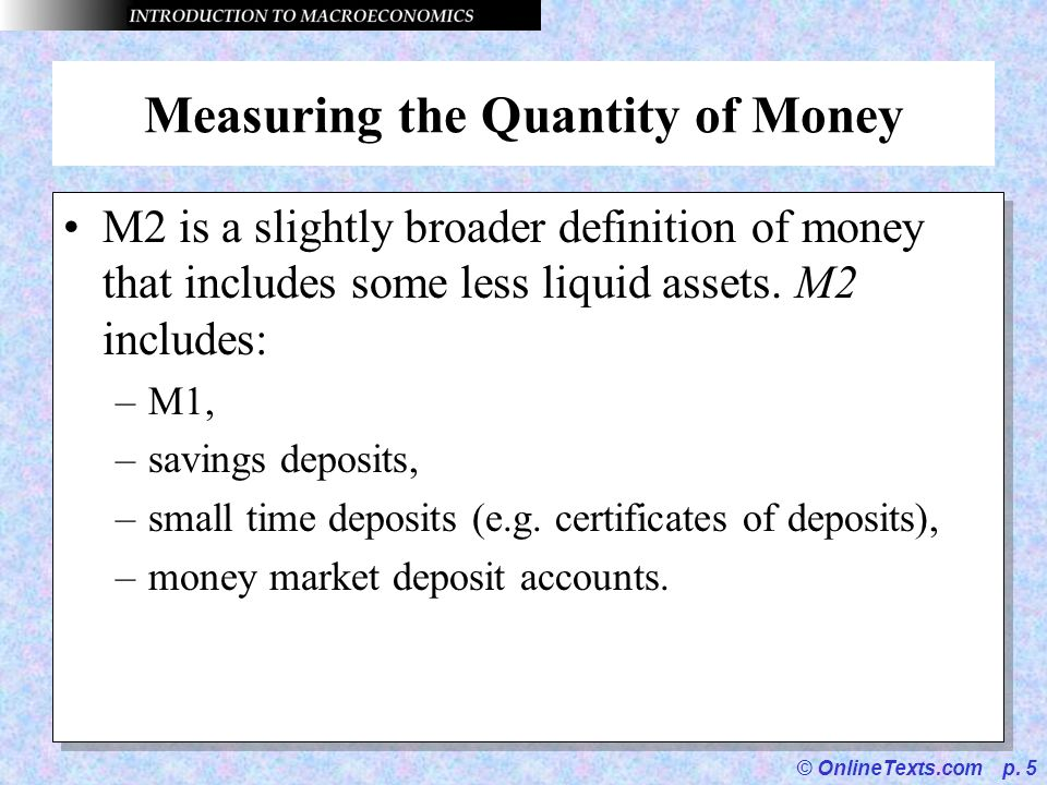 OnlineTexts.com p. 1 Chapter 14 Money and Banking. - ppt download