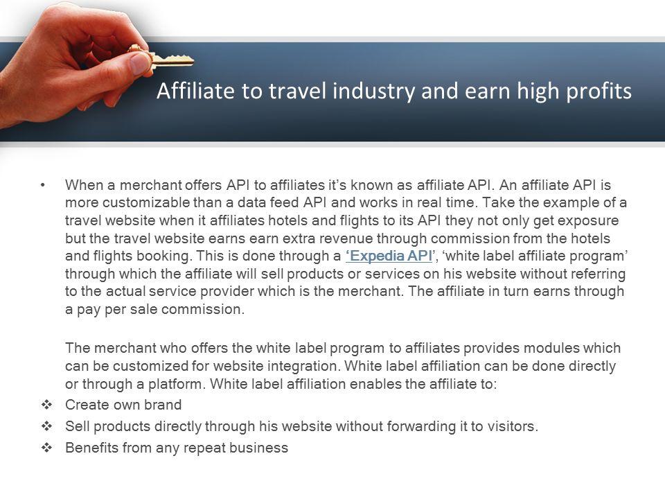 Expedia API Integration for Travel Agencies  Affiliate to