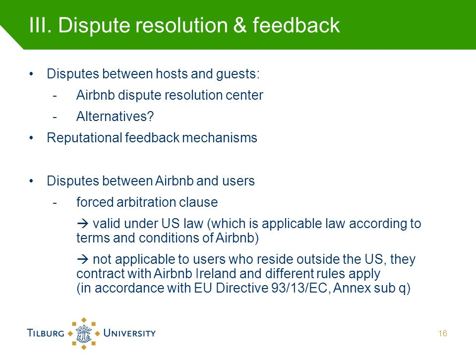 Regulating Contract Platforms, the Case of Airbnb Prof  Vanessa Mak