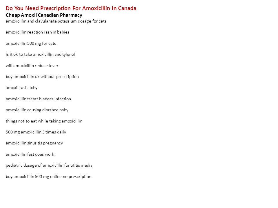 amoxicillin canadian pharmacy