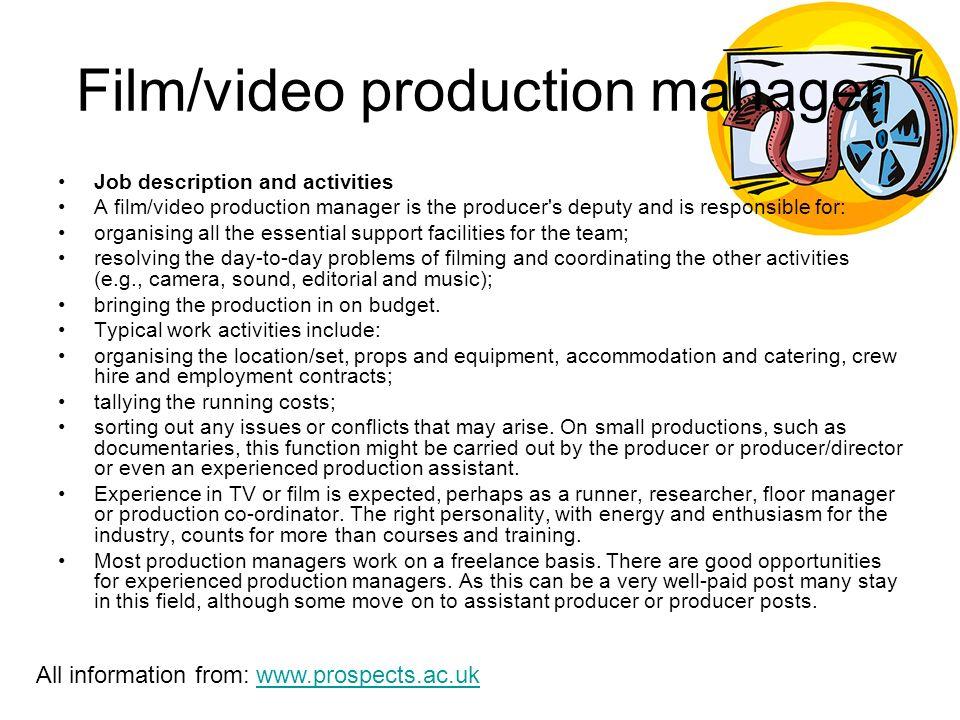 Film Director Job Description   Jobs Within The Media Industry Film Director Job Description And
