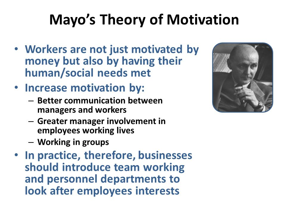 theories of motivation practical application The most commonly held views or theories are discussed below and have been developed  theories of motivation (gcse  motivation theories.