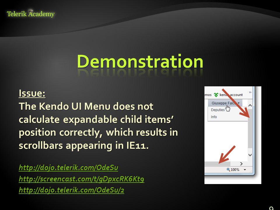 Dimo Dimov Support Lead, Kendo UI Telerik Telerik Software