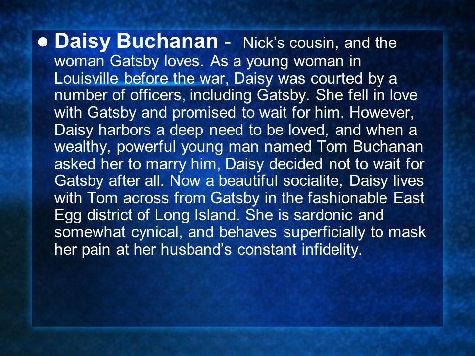 daisy buchanan monologue