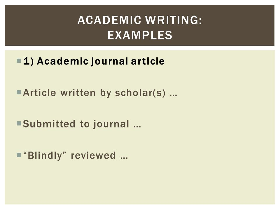 standard academic writing format The use of the editorial 'we' is therefore often acceptable in a piece of academic writing • masculine generic terms : the use of masculine generic terms such as man and he to refer to both males and females is now avoided in most academic writing.