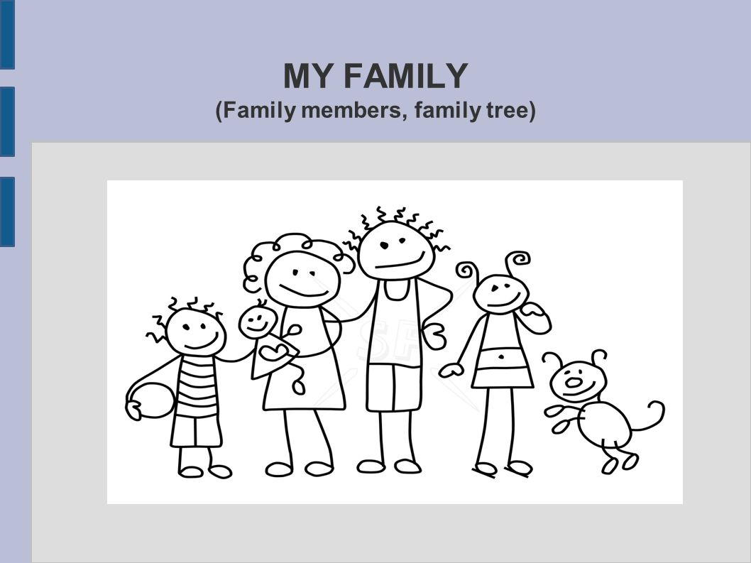 my family family members family tree 1 warm up pairwork you