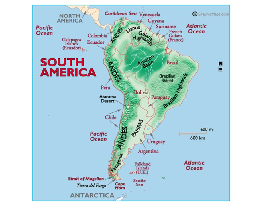 Physical Geography Of Latin America Latin America Reaches From The