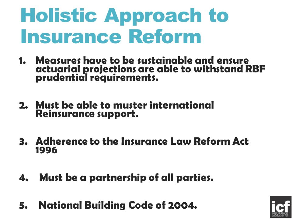 Current Practices Views On Insurance Industry Reform By Lolesh