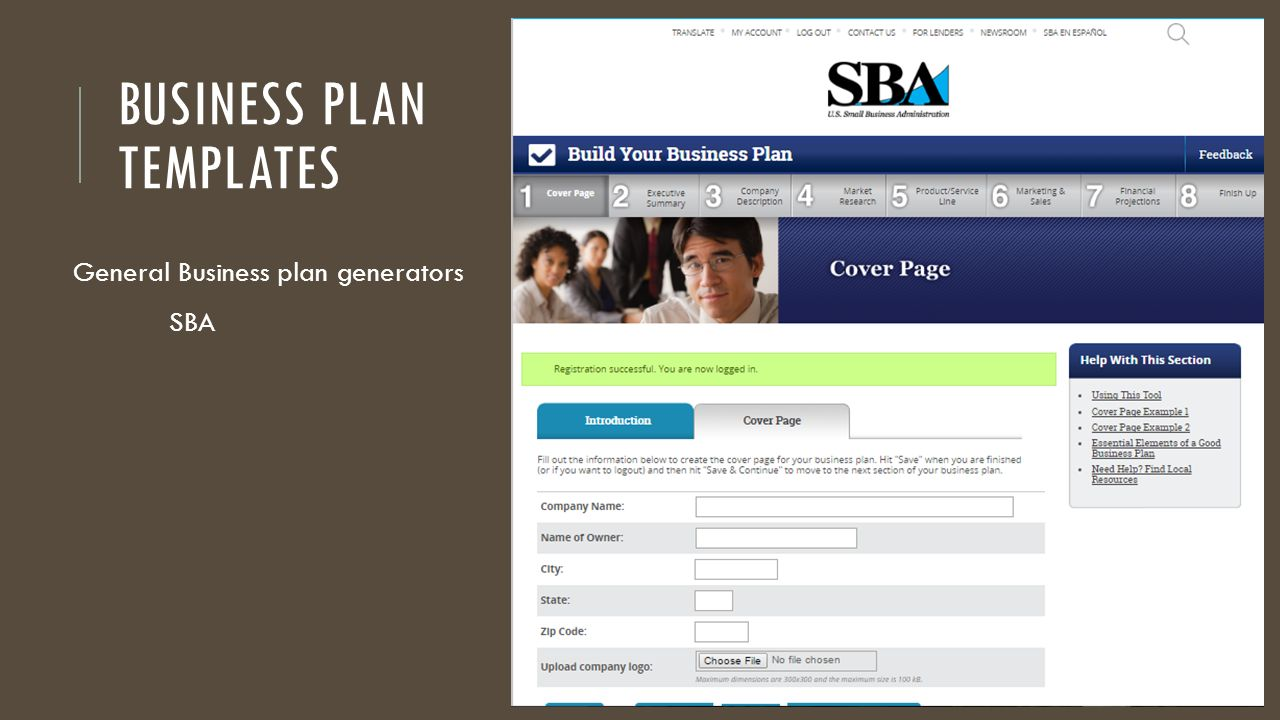writing a business plan marketing operations financials ppt download