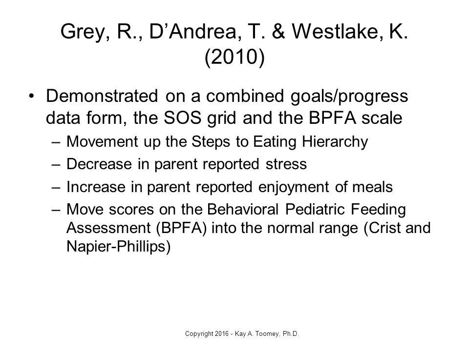 pediatric feeding goals