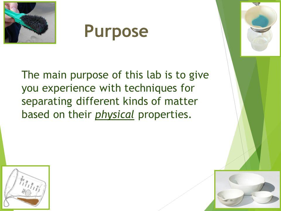 separation techniques lab