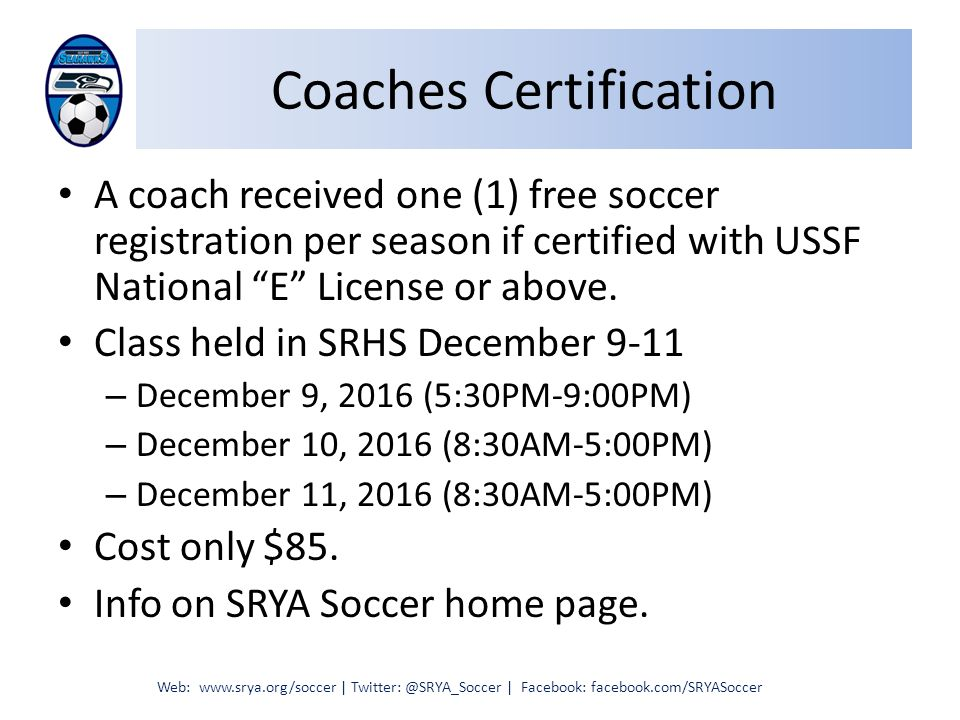 Sr County Soccer Aaysa County Soccer League Coaches Meeting Web