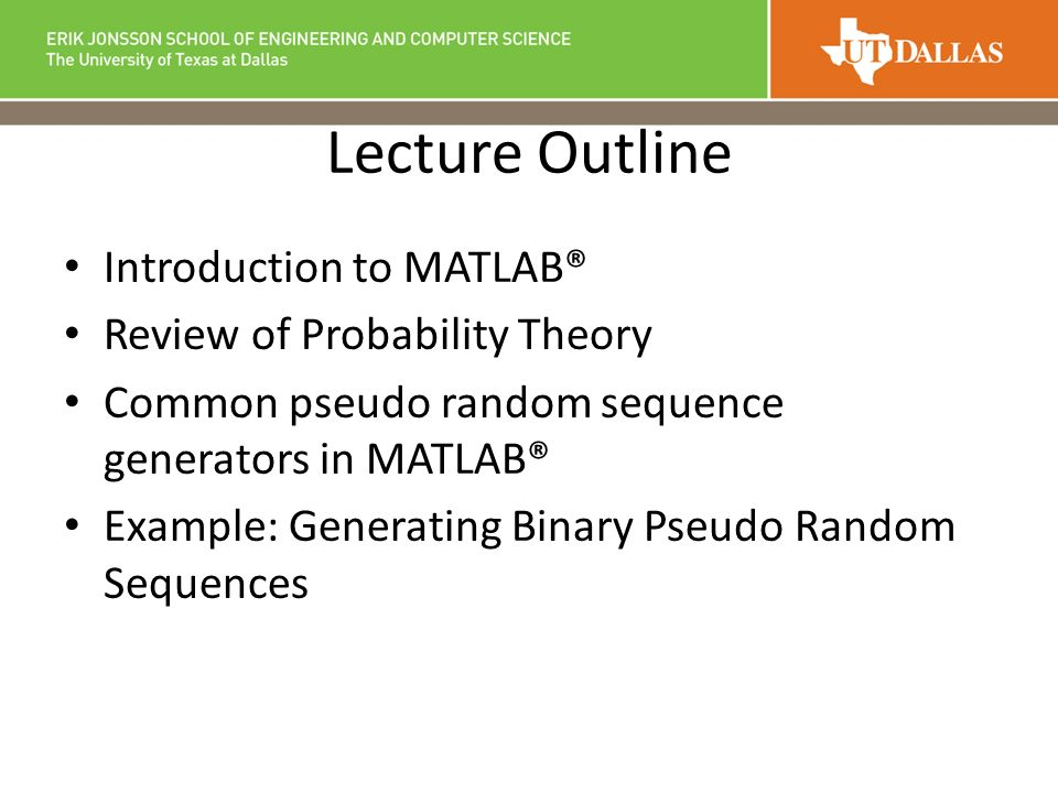 EE 4365 Introduction to Wireless Communications MATLAB
