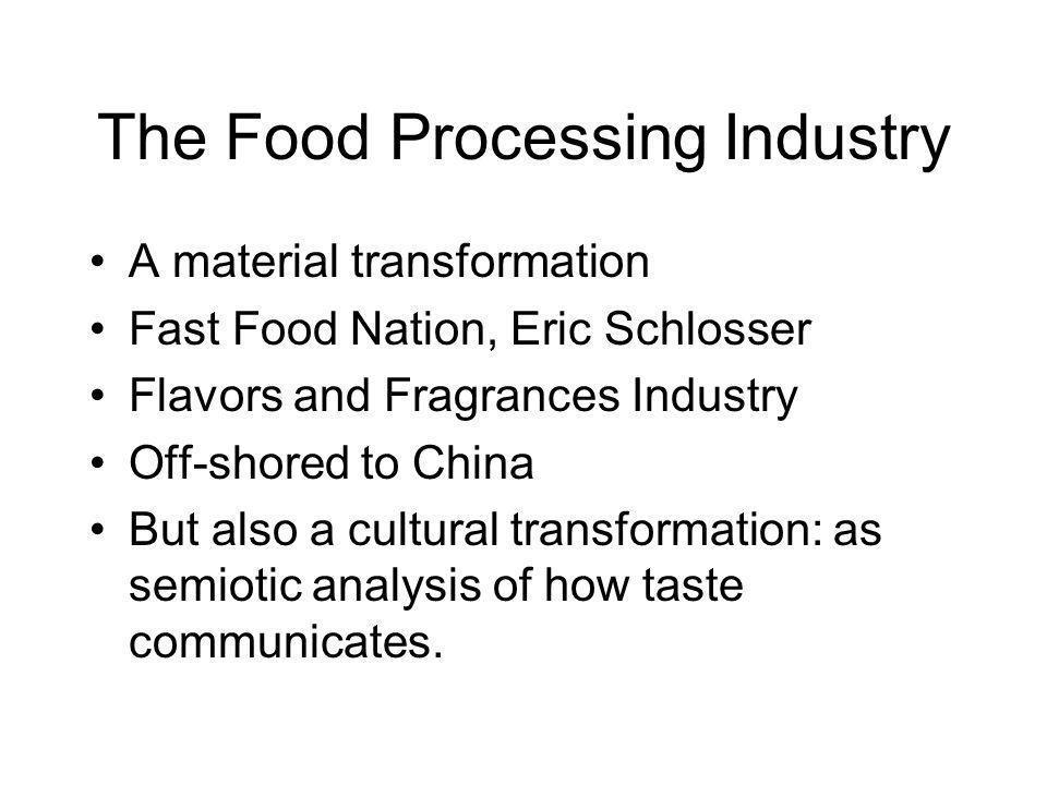 fast food nation analysis