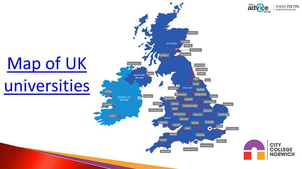 Map Of Uk Universities And Colleges.Map Of Uk Universities Ucas Twitterleesclub