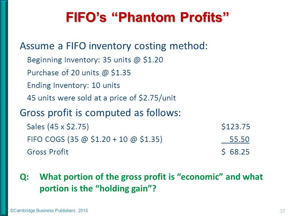 phantom profit