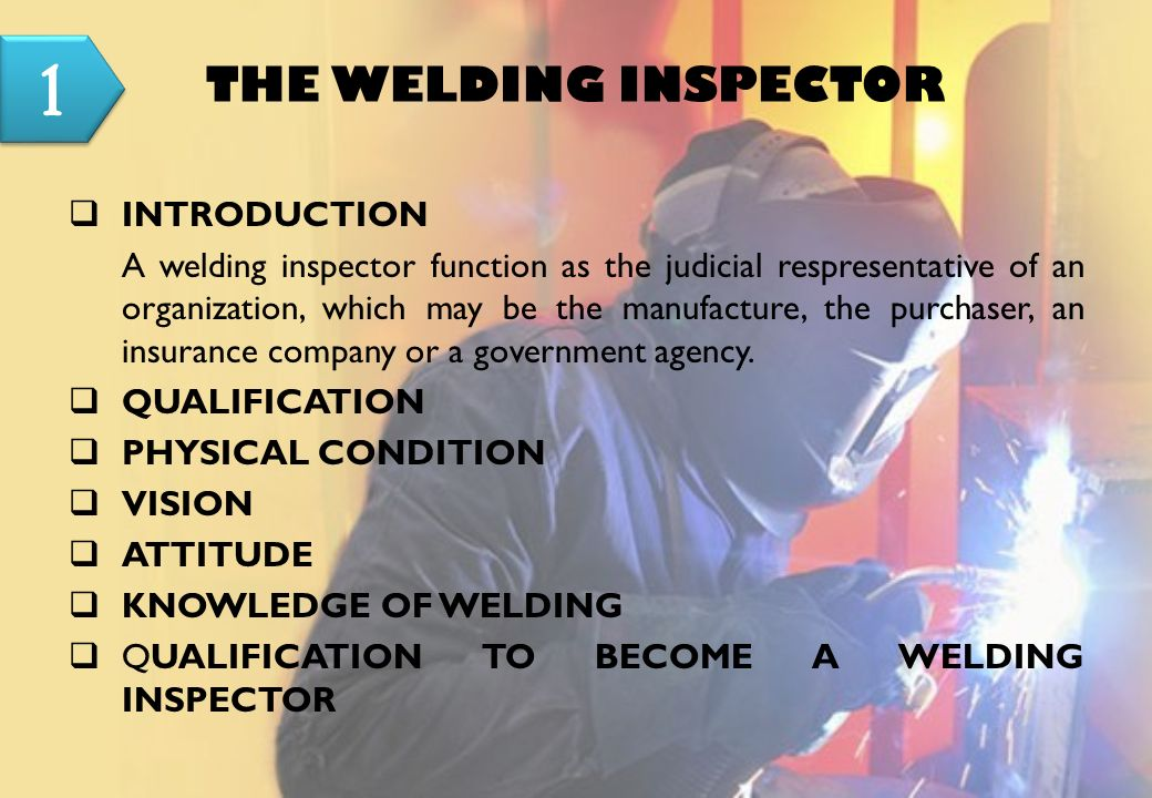 manual for welding inspector prof landjono josowidagdo senior rh slideplayer com Pipeline Welding Inspector Jobs certified welding inspector manual