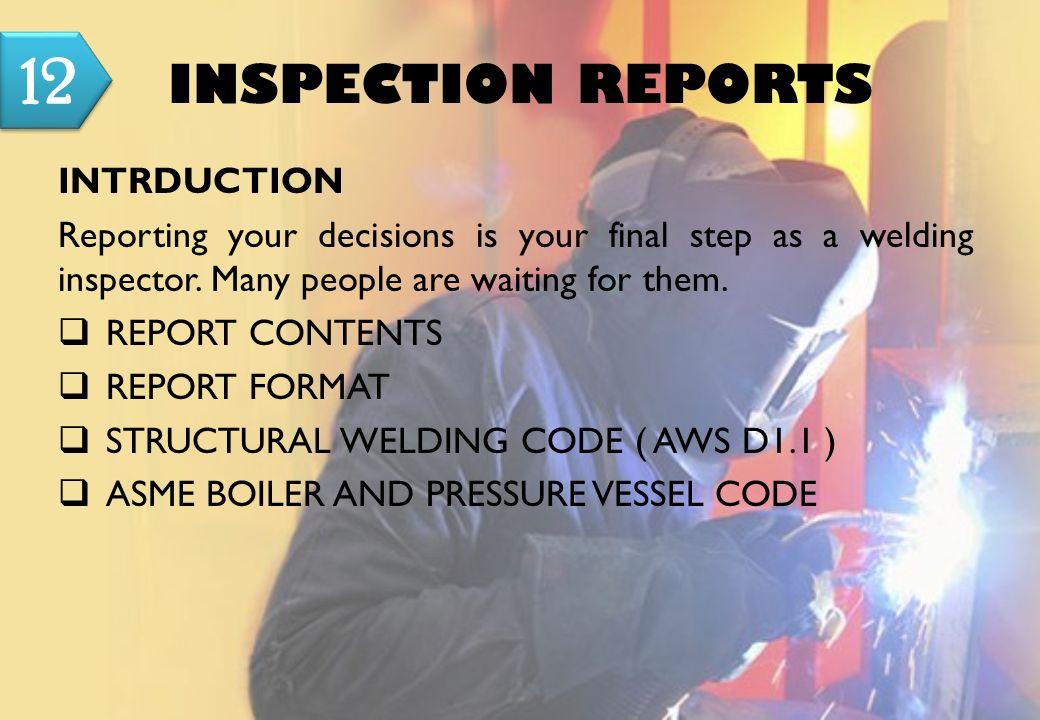 Manual for welding inspector prof landjono josowidagdo senior 45 inspection reports intrduction maxwellsz