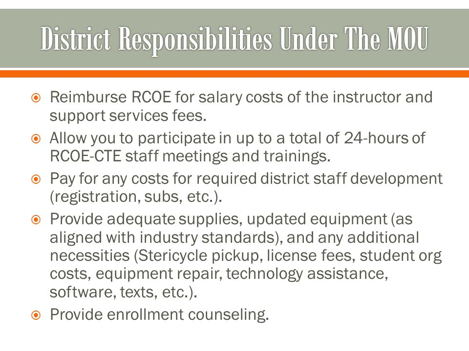 Career Technical Education Our Commitment to Extraordinary Service