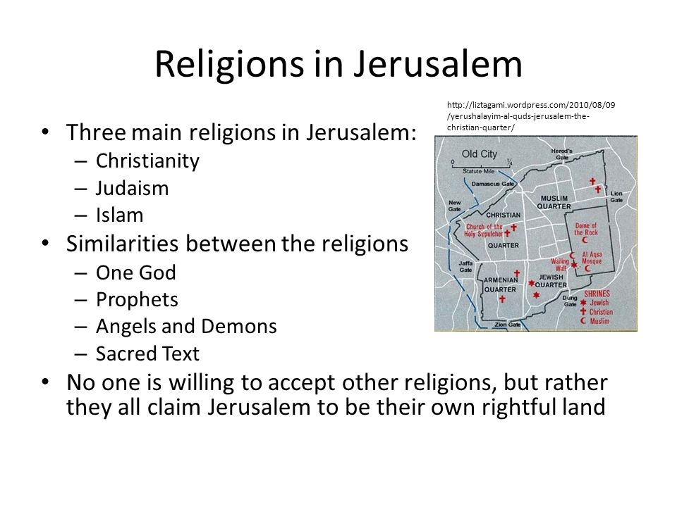 muslim christianity and judaism similarities