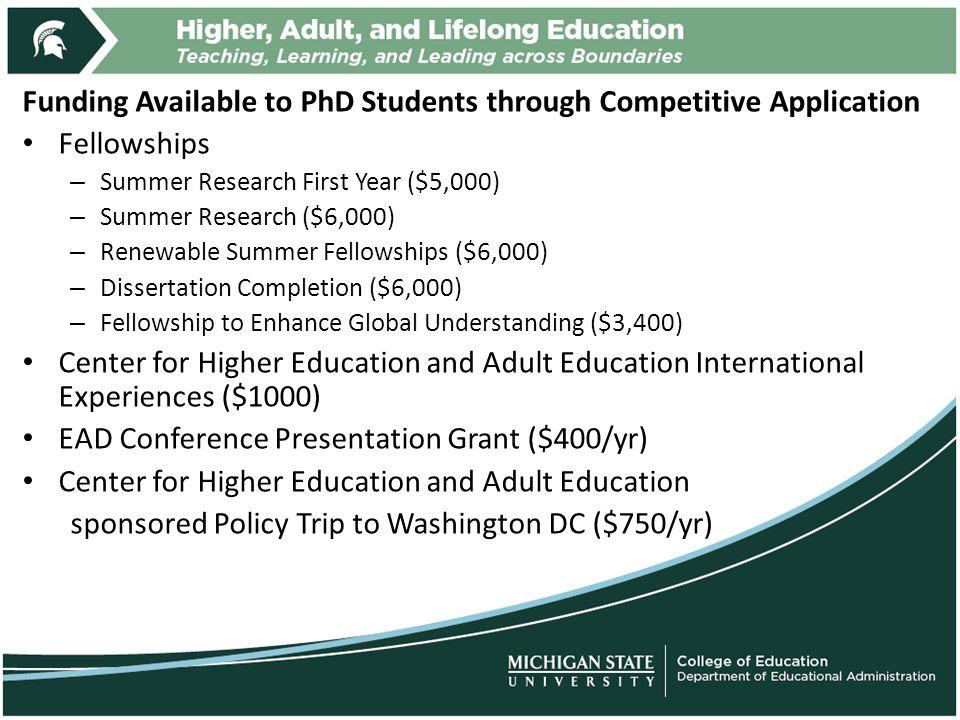 dissertation grant