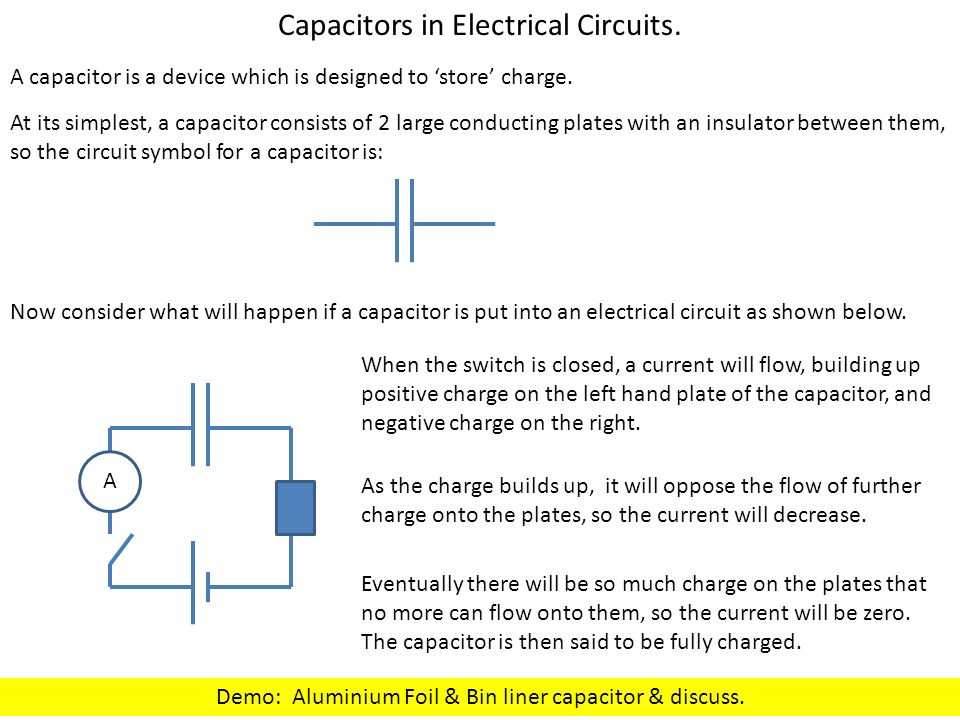 For the capacitor charging experiment, use 1000  F capacitor with ...