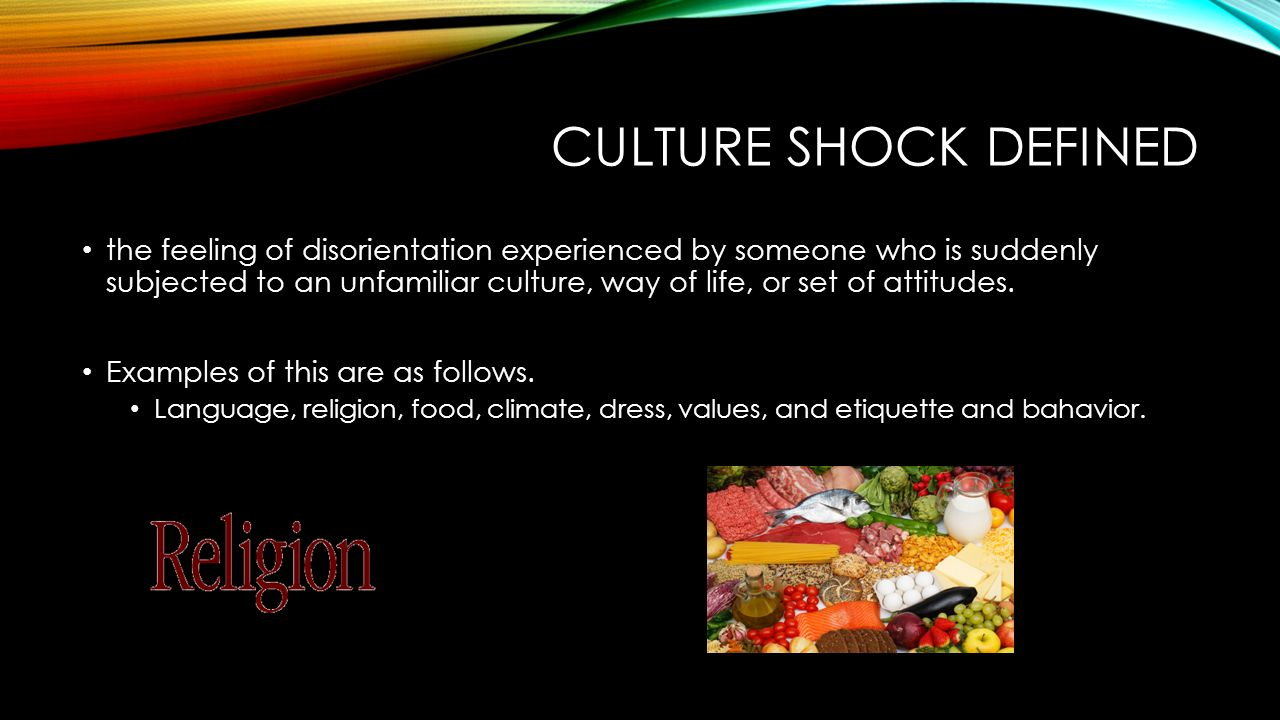 Culture Shock By Mikayla Anderson Interviewee Bryan Covington