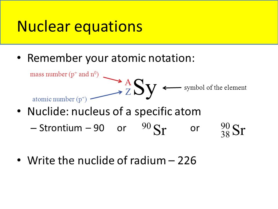 Chapter 18 Nuclear Chemistry Overview Natural Radioactivity