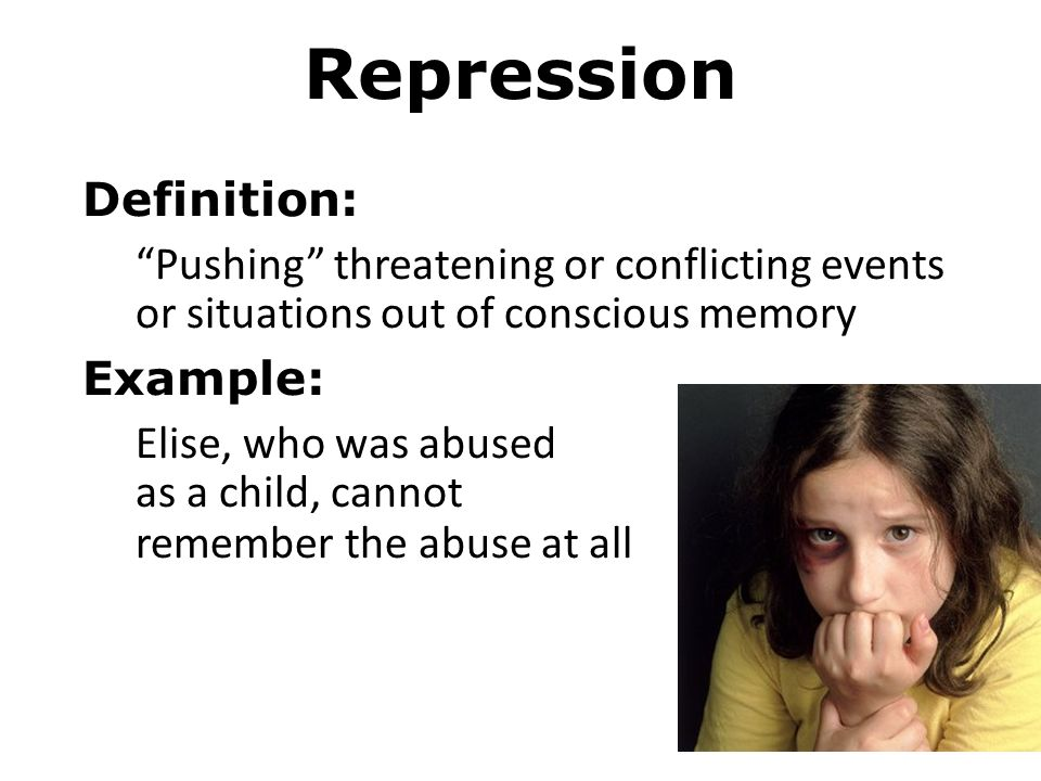 Psychological Defense Mechanisms Denial Definition Refusal To Recognize Or Acknowledge A Threatening Situation