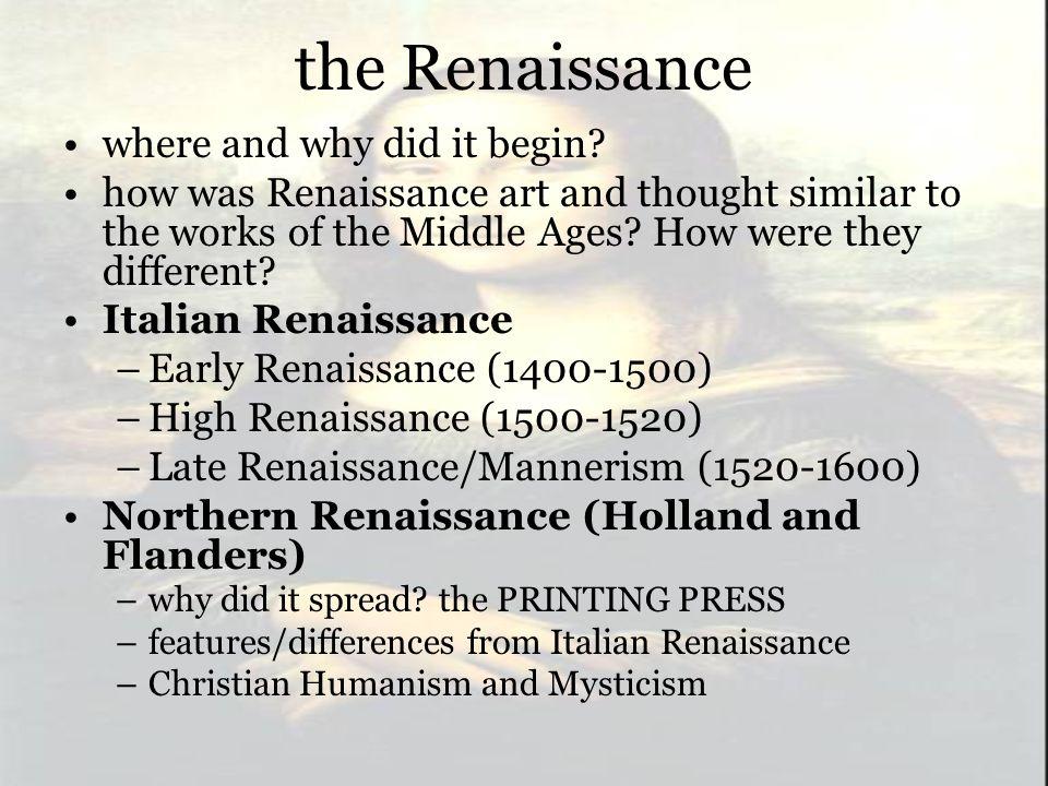 renaissance humanism art