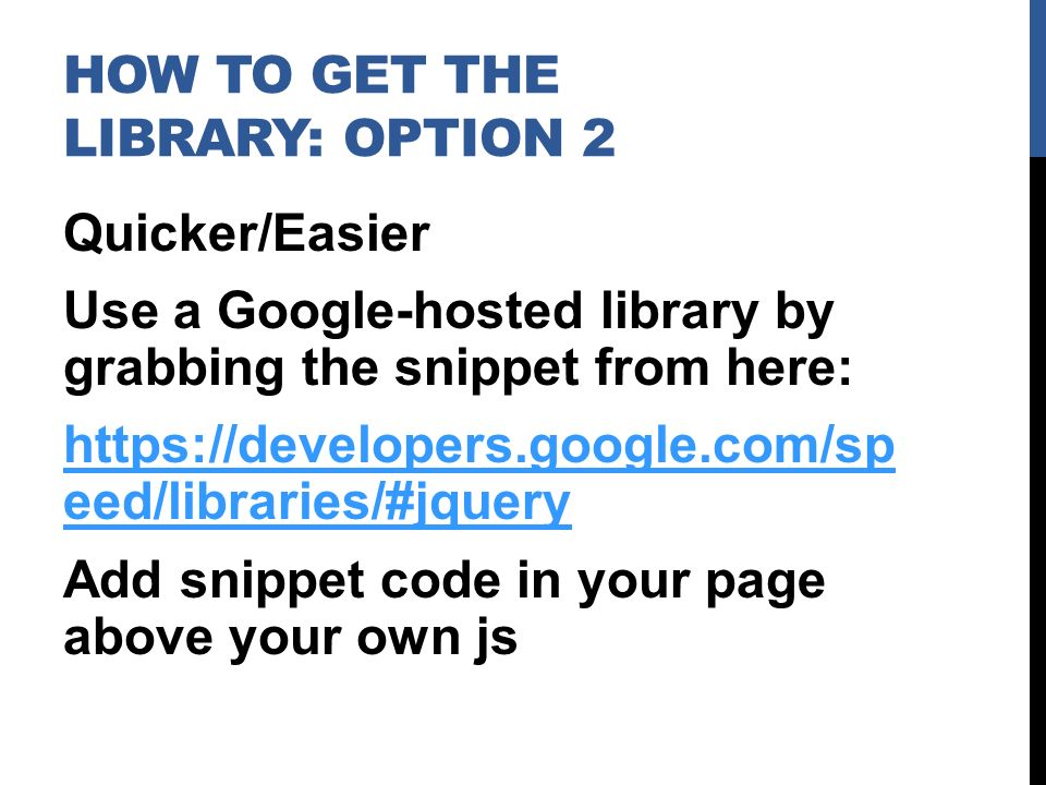 JQuery is a fast, small, and feature-rich javascript library