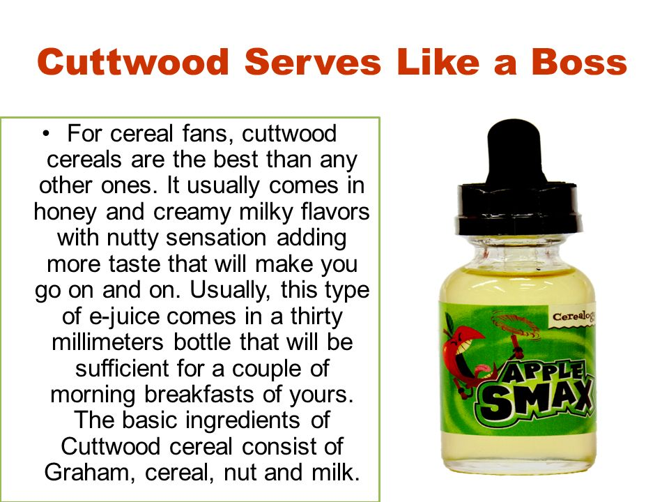 Cerealogy E-Juice A Kick Start of your Morning Rituals
