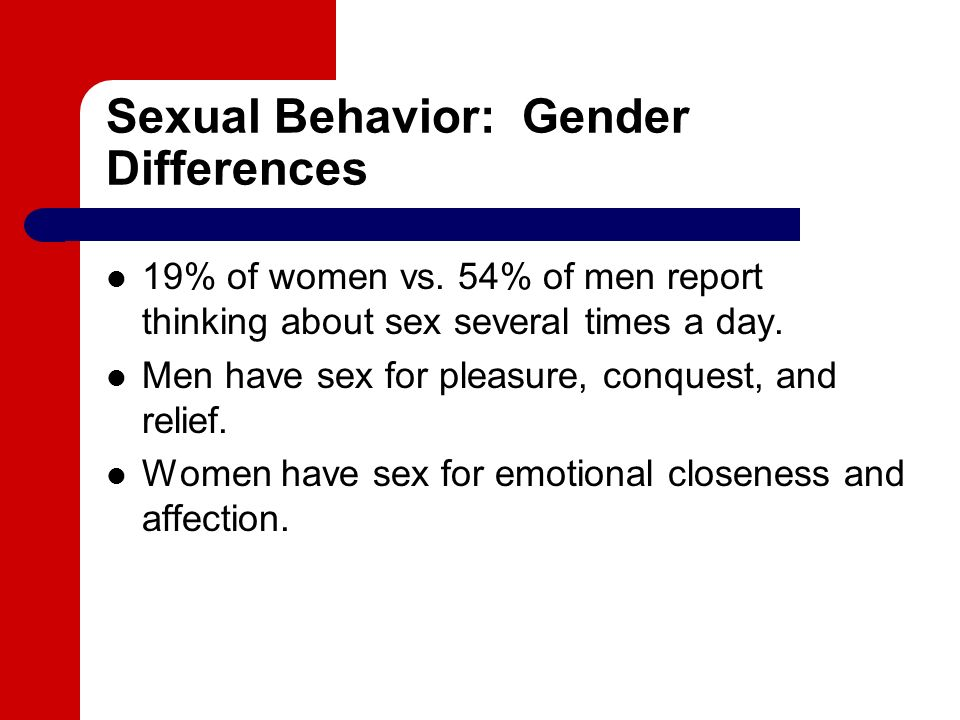 Risky sexual behaviours of high