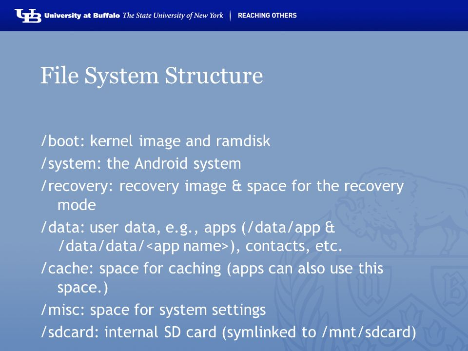 Android Build System and Overview Karthik Dantu and Steve Ko