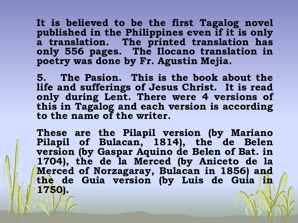 tagalog essays Argumentative essays are organized in many different ways, but one popular format is the five paragraph essay, which includes an introduction, three body paragraphs, and a conclusion the.