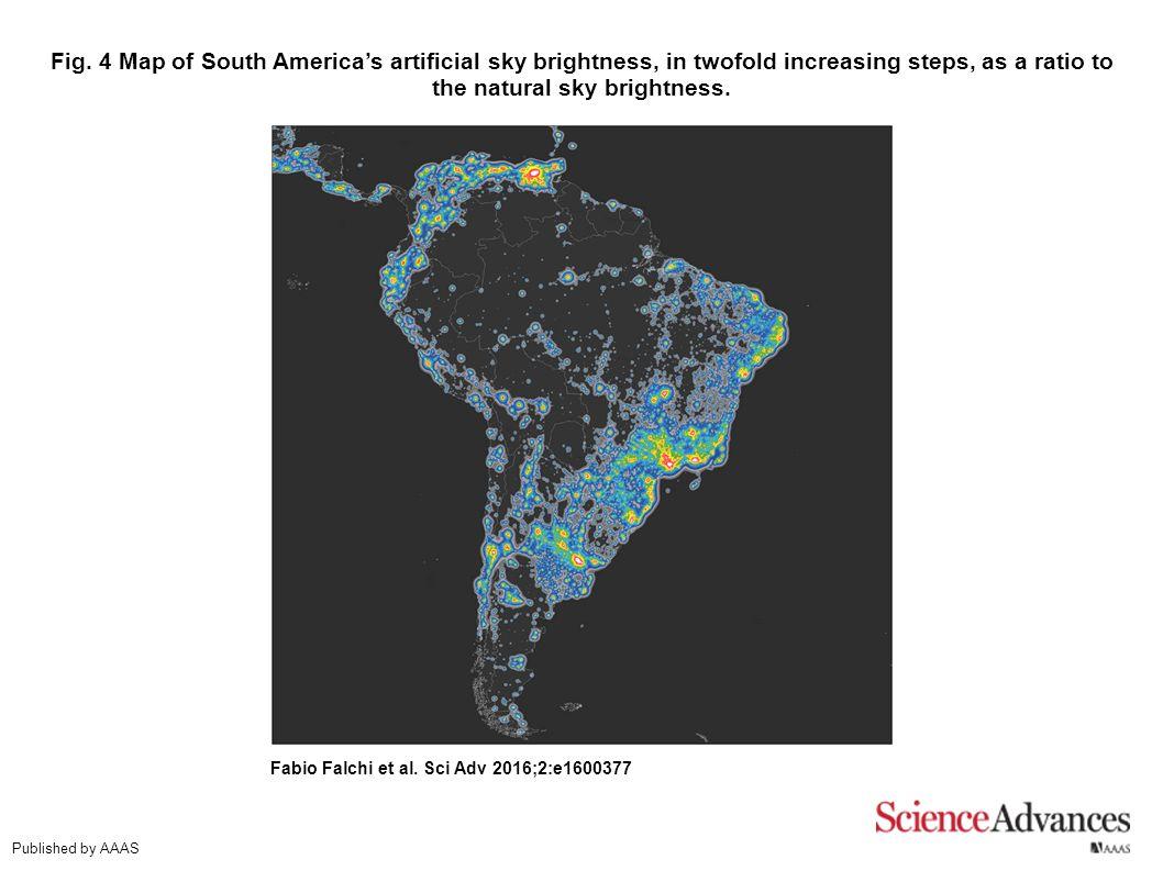 The new world atlas of artificial night sky brightness by Fabio ...
