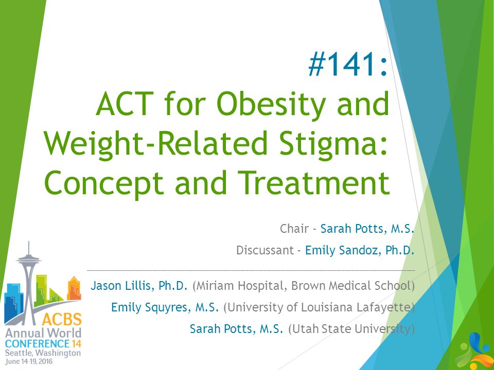 141 act for obesity and weight related stigma concept and