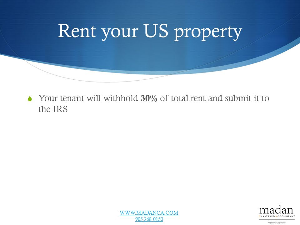 Tax Tips For Real Estate Investors With Allan Madan Ppt Download