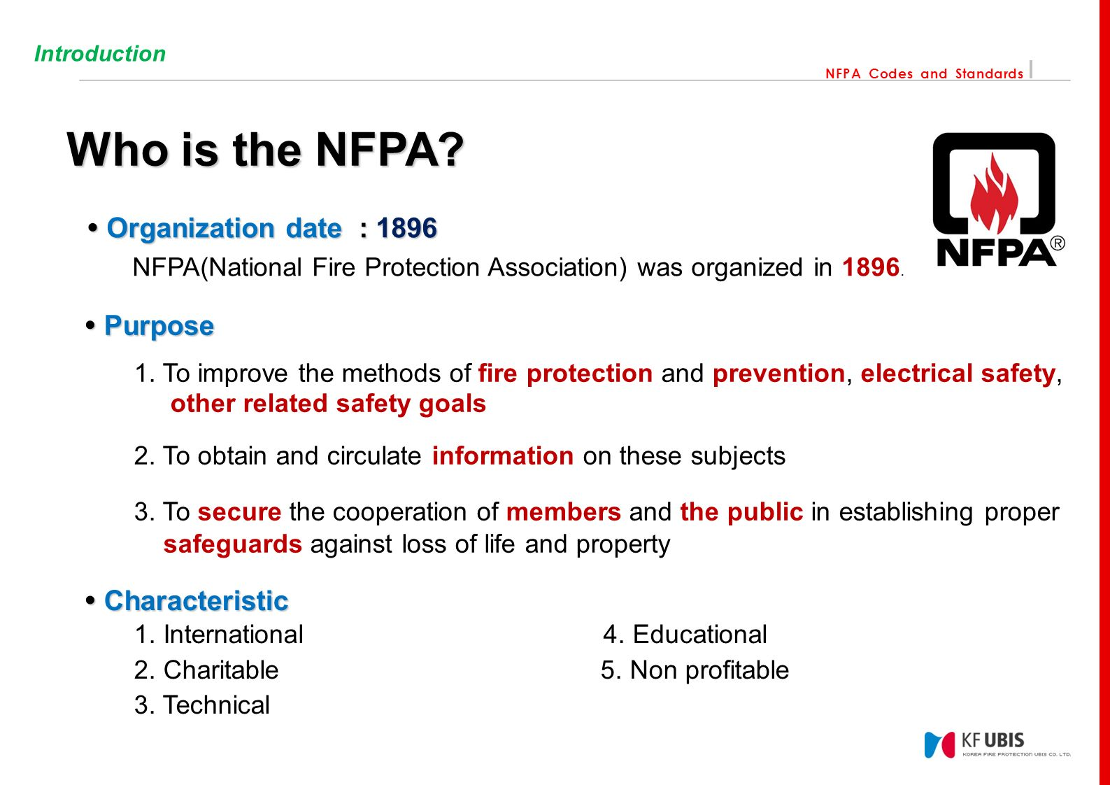 Incredible Nfpa Codes And Standards Contents 01 Introduction Who Is The Nfpa Wiring Database Wedabyuccorg