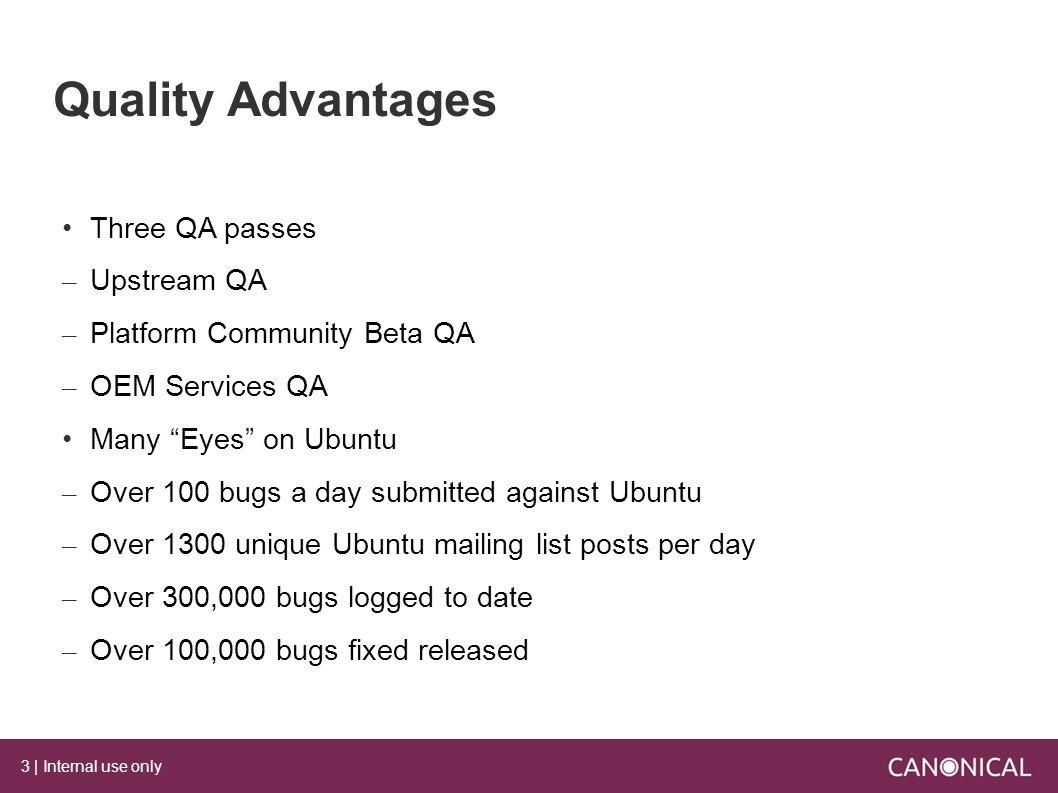 Qa Process Within Oem Services Ethan Chang Engineer Service Flow Diagram Ubuntu 3 Internal